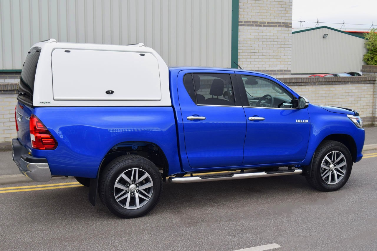 Toyota Hilux High Roof Pro//Top Gullwing Canopy