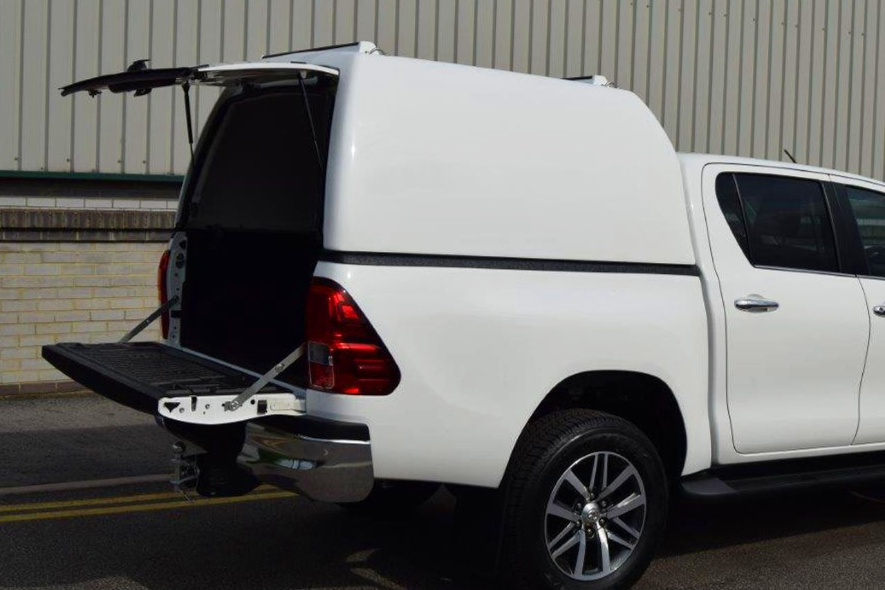 Pro//Top High Roof Tradesman for Hilux