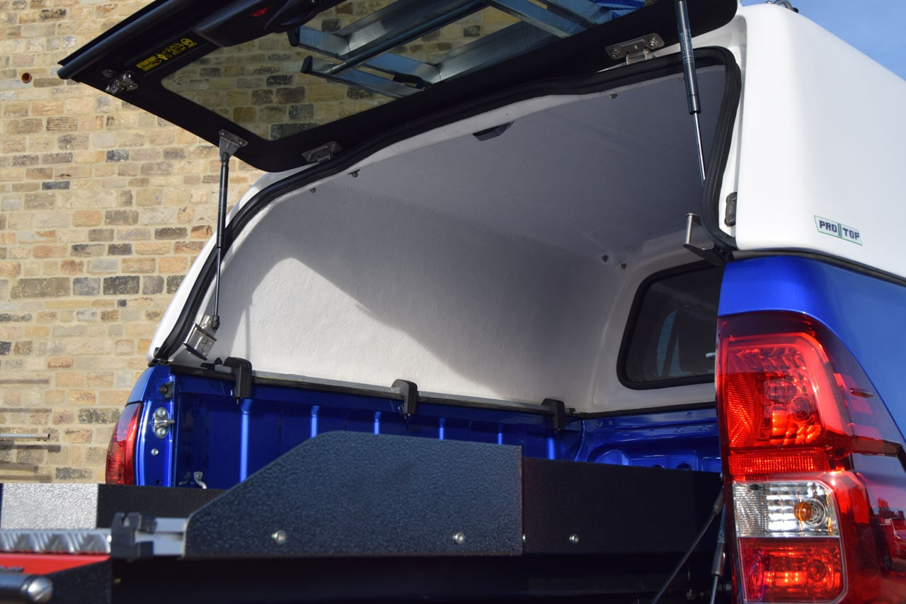 Pro//Top Low Roof Tradesman Hard Top for Hilux