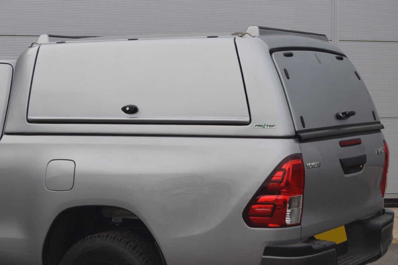 Toyota Hilux Canopy for Mid Roof Gullwing