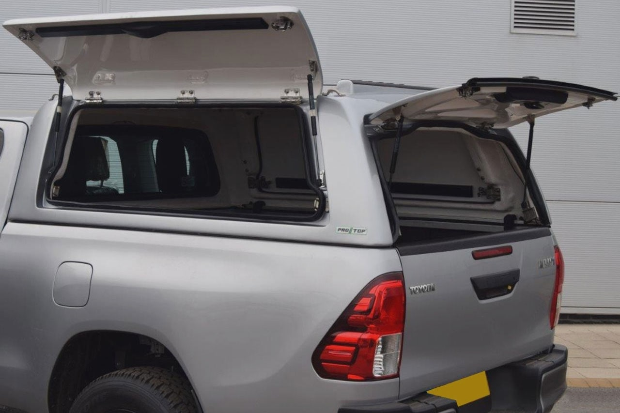 Mid Roof Gullwing Canopy for Toyota Hilux